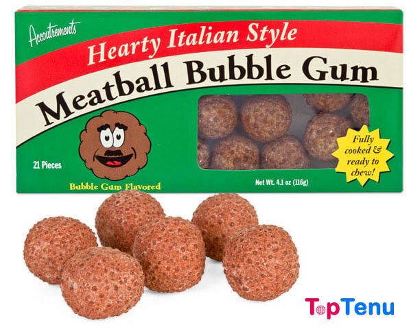 Disgusting Candies, Top 10 Most Crazy and Disgusting Candies in the World