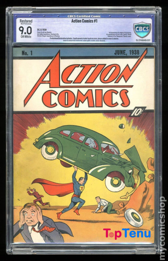 Expensive Comic Books, The 10 Most Expensive Comic Books Ever Sold