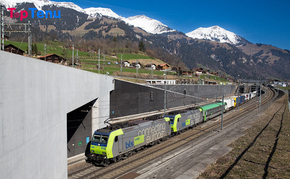 Longest MEGA Tunnels, The 10 Longest MEGA Tunnels in the World